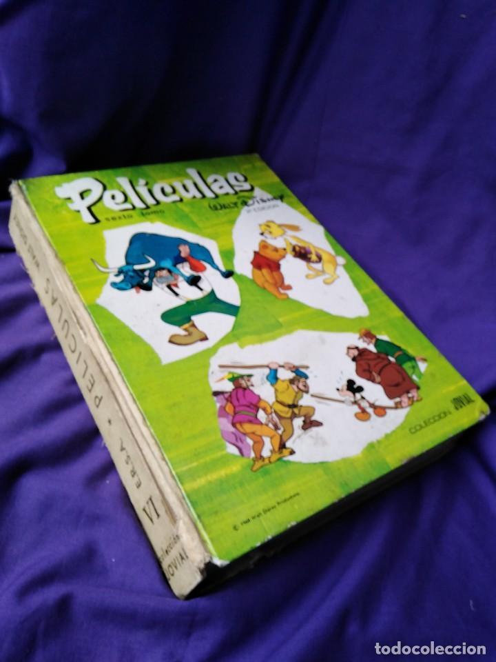 TOMO SEXTO, (2A.EDICIÓN) DE PELÍCULAS DE WALT DISNEY POR TAN SÓLO DOCE EUROS (Libros de Segunda Mano - Literatura Infantil y Juvenil - Cuentos)