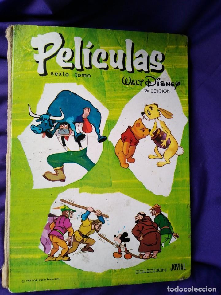 Libros de segunda mano: Tomo sexto, (2a.edición) de PELÍCULAS de Walt Disney por tan sólo doce euros - Foto 2 - 288665213