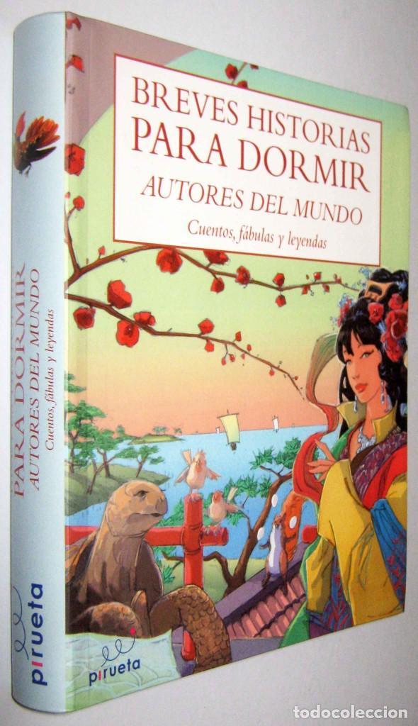 BREVES HISTORIAS PARA DORMIR - AUTORES DEL MUNDO - CUENTOS, FABULAS Y LEYENDAS - ILUSTRADO (Libros de Segunda Mano - Literatura Infantil y Juvenil - Cuentos)
