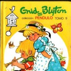 Libros de segunda mano: ENID BLYTON : PENDULO Nº 9 (TORAY, 1980) ILUSTRADO POR MARÍA PASCUAL. Lote 288694058