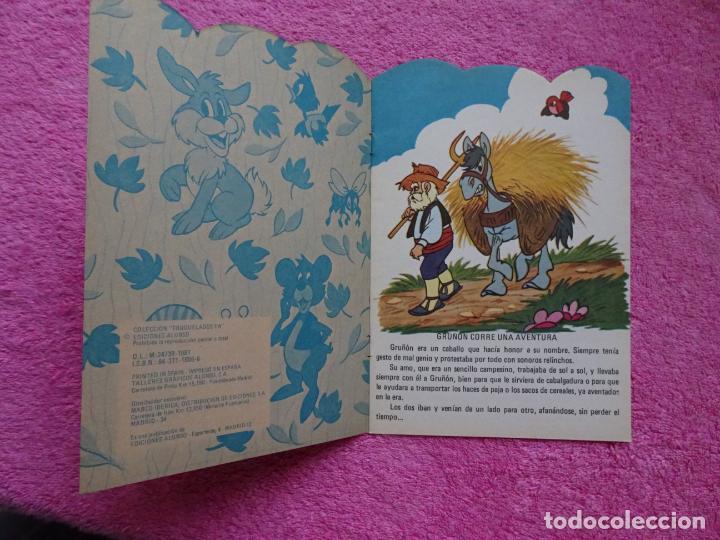Libros de segunda mano: gruñón corre una aventura ediciones alonso 1981 cuentos troquelados fa 52 - Foto 2 - 288703858