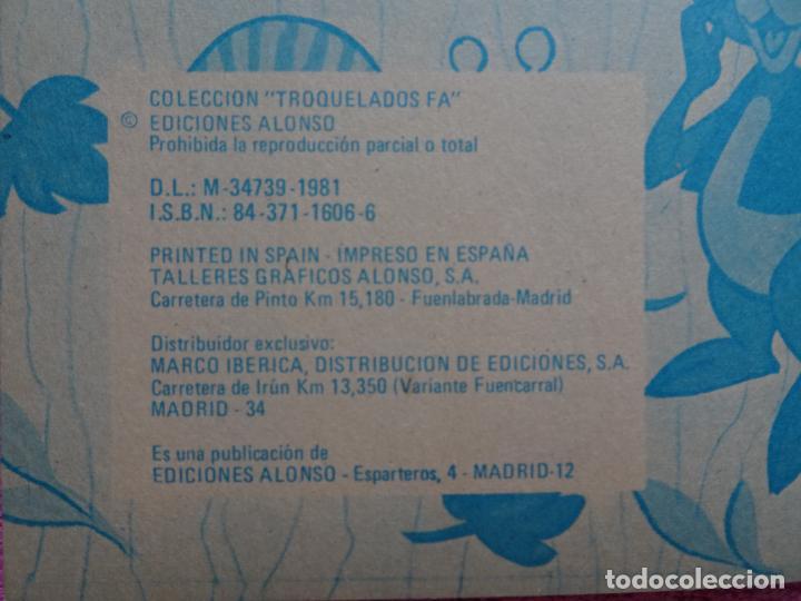 Libros de segunda mano: gruñón corre una aventura ediciones alonso 1981 cuentos troquelados fa 52 - Foto 3 - 288703858