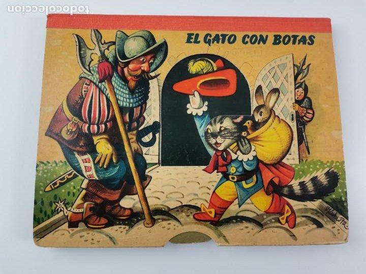L-941. CUENTO TROQUELADO CON DIORAMAS EL GATO CON BOTAS. BANCROFT & CO. (Libros de Segunda Mano - Literatura Infantil y Juvenil - Cuentos)