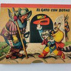Libros de segunda mano: CUENTO TROQUELADO CON DIORAMAS EL GATO CON BOTAS. BANCROFT & CO.. Lote 289311118
