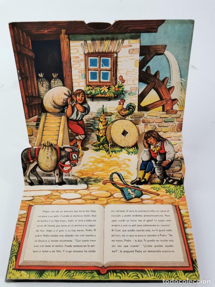 Libros de segunda mano: L-941. CUENTO TROQUELADO CON DIORAMAS EL GATO CON BOTAS. BANCROFT & CO. - Foto 2 - 289311118