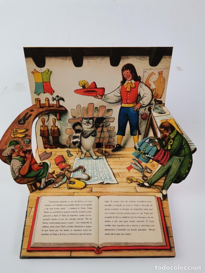 Libros de segunda mano: L-941. CUENTO TROQUELADO CON DIORAMAS EL GATO CON BOTAS. BANCROFT & CO. - Foto 3 - 289311118