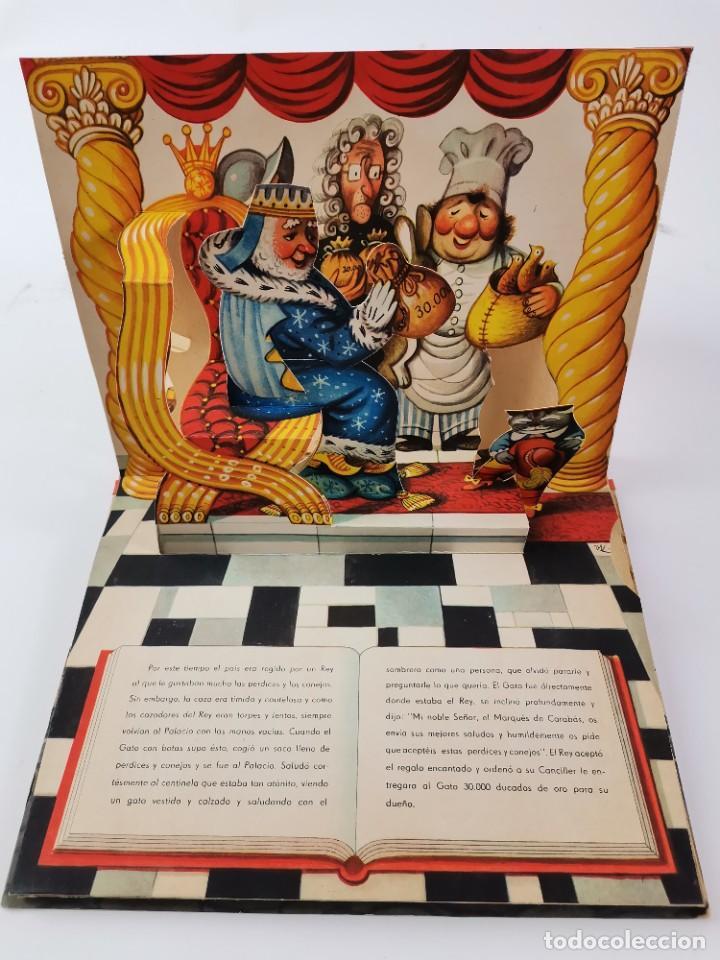 Libros de segunda mano: L-941. CUENTO TROQUELADO CON DIORAMAS EL GATO CON BOTAS. BANCROFT & CO. - Foto 4 - 289311118