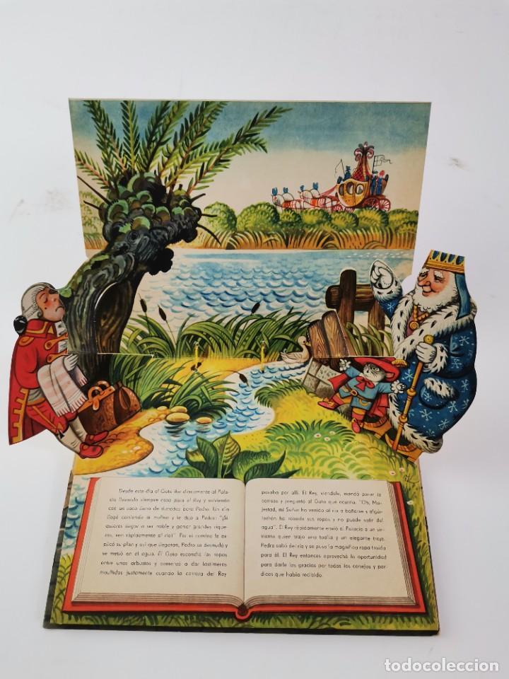 Libros de segunda mano: L-941. CUENTO TROQUELADO CON DIORAMAS EL GATO CON BOTAS. BANCROFT & CO. - Foto 5 - 289311118
