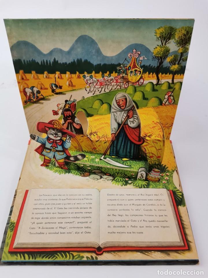 Libros de segunda mano: L-941. CUENTO TROQUELADO CON DIORAMAS EL GATO CON BOTAS. BANCROFT & CO. - Foto 6 - 289311118