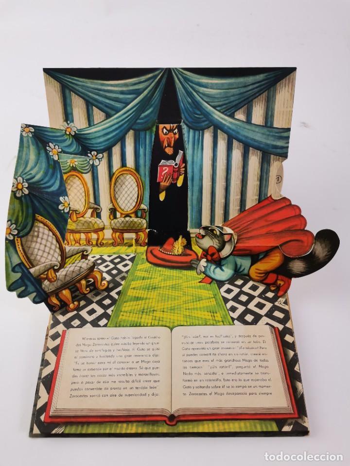 Libros de segunda mano: L-941. CUENTO TROQUELADO CON DIORAMAS EL GATO CON BOTAS. BANCROFT & CO. - Foto 7 - 289311118
