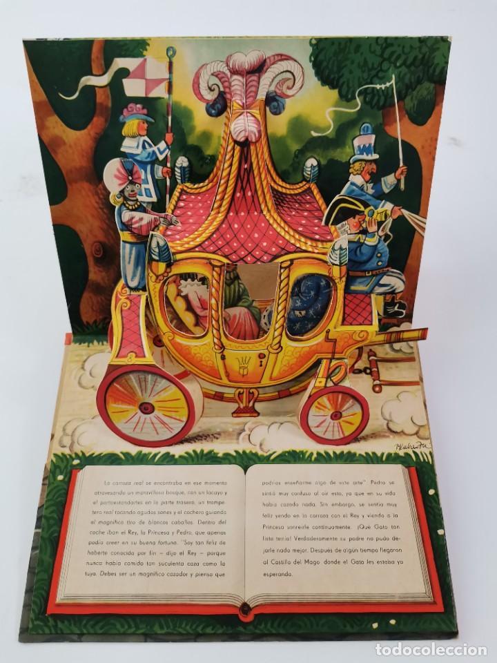 Libros de segunda mano: L-941. CUENTO TROQUELADO CON DIORAMAS EL GATO CON BOTAS. BANCROFT & CO. - Foto 8 - 289311118