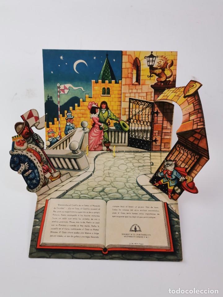 Libros de segunda mano: L-941. CUENTO TROQUELADO CON DIORAMAS EL GATO CON BOTAS. BANCROFT & CO. - Foto 9 - 289311118