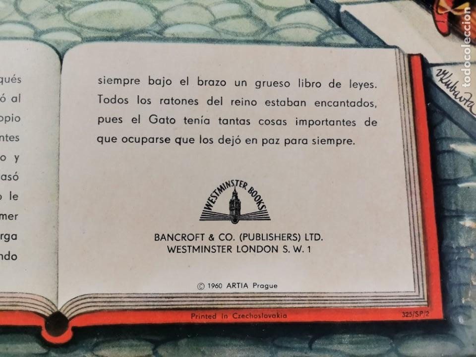 Libros de segunda mano: L-941. CUENTO TROQUELADO CON DIORAMAS EL GATO CON BOTAS. BANCROFT & CO. - Foto 10 - 289311118