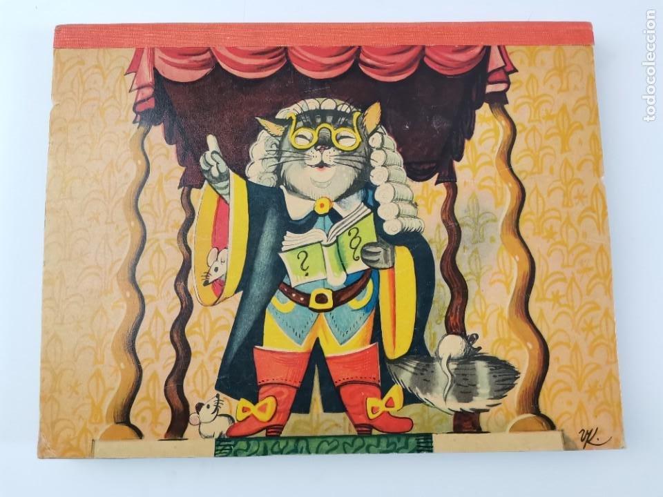 Libros de segunda mano: L-941. CUENTO TROQUELADO CON DIORAMAS EL GATO CON BOTAS. BANCROFT & CO. - Foto 11 - 289311118