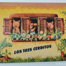 Libros de segunda mano: CUENTO TROQUELADO CON DIORAMAS RICITOS DE ORO Y LOS TRES OSITOS. BANCROFT & CO.. Lote 289311453