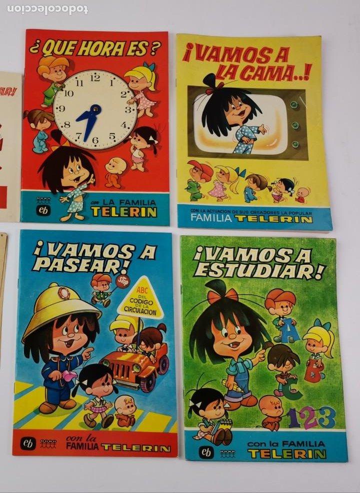 CU-151. LOTE DE 4 CUENTOS LA FAMILIA TELERIN. (Libros de Segunda Mano - Literatura Infantil y Juvenil - Cuentos)