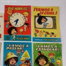 Libros de segunda mano: LOTE DE 4 CUENTOS LA FAMILIA TELERIN.. Lote 289315868