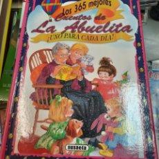 Libros de segunda mano: 365 CUENTOS DE LA ABUELITA. UNO PARA CADA DIA. Lote 289749323