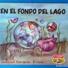 Libros de segunda mano: CUENTO EL CASERÍO: EN EL FONDO DEL MAR. ERASE UNA VEZ... EL CASERÍO. Nº 6. AÑO 1989. Lote 289750763