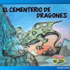 Libros de segunda mano: CUENTO EL CASERÍO: EL CEMENTERIO DE DRAGONES. ERASE UNA VEZ... EL CASERÍO. Nº 11. AÑO 1989. Lote 289751618