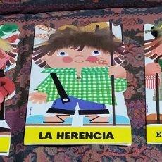 Libros de segunda mano: LOTE TRES CUENTOS TROQUELADOS ANTIGUOS. Lote 289752708