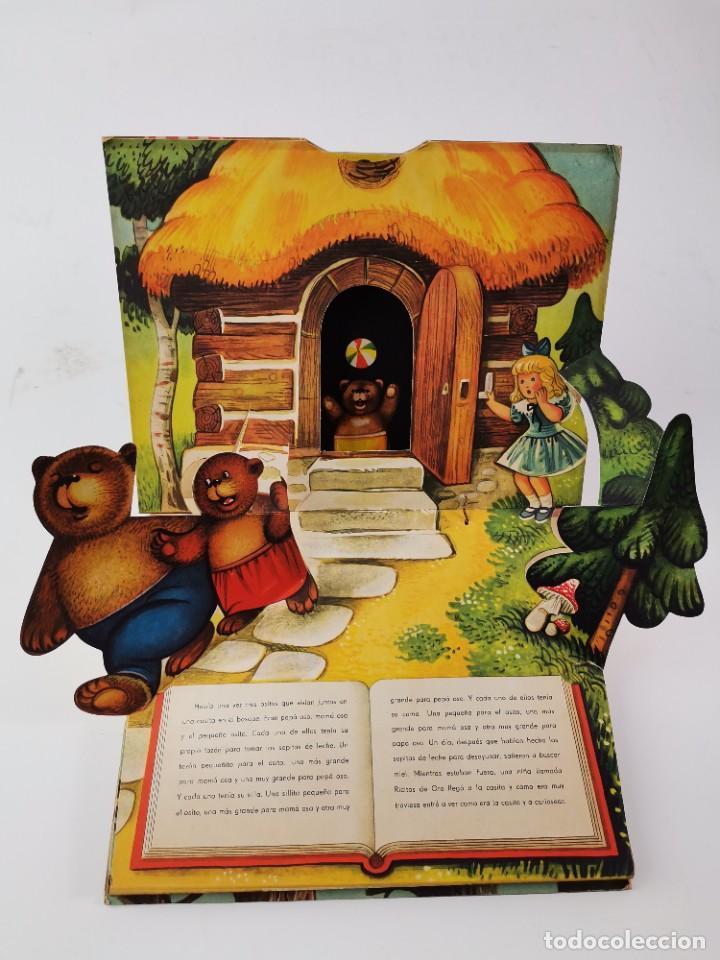 Libros de segunda mano: L-959. CUENTO TROQUELADO CON DIORAMAS RICITOS DE ORO Y LOS TRES OSITOS. BANCROFT & CO. - Foto 2 - 289311453