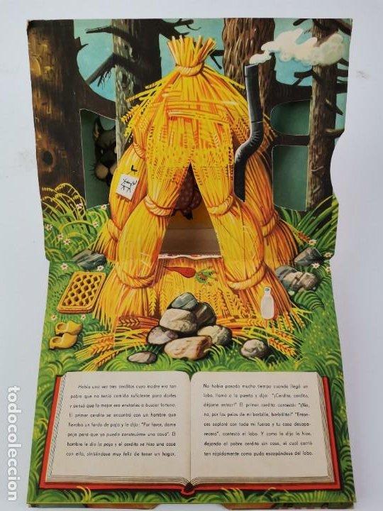 Libros de segunda mano: L-959. CUENTO TROQUELADO CON DIORAMAS RICITOS DE ORO Y LOS TRES OSITOS. BANCROFT & CO. - Foto 6 - 289311453