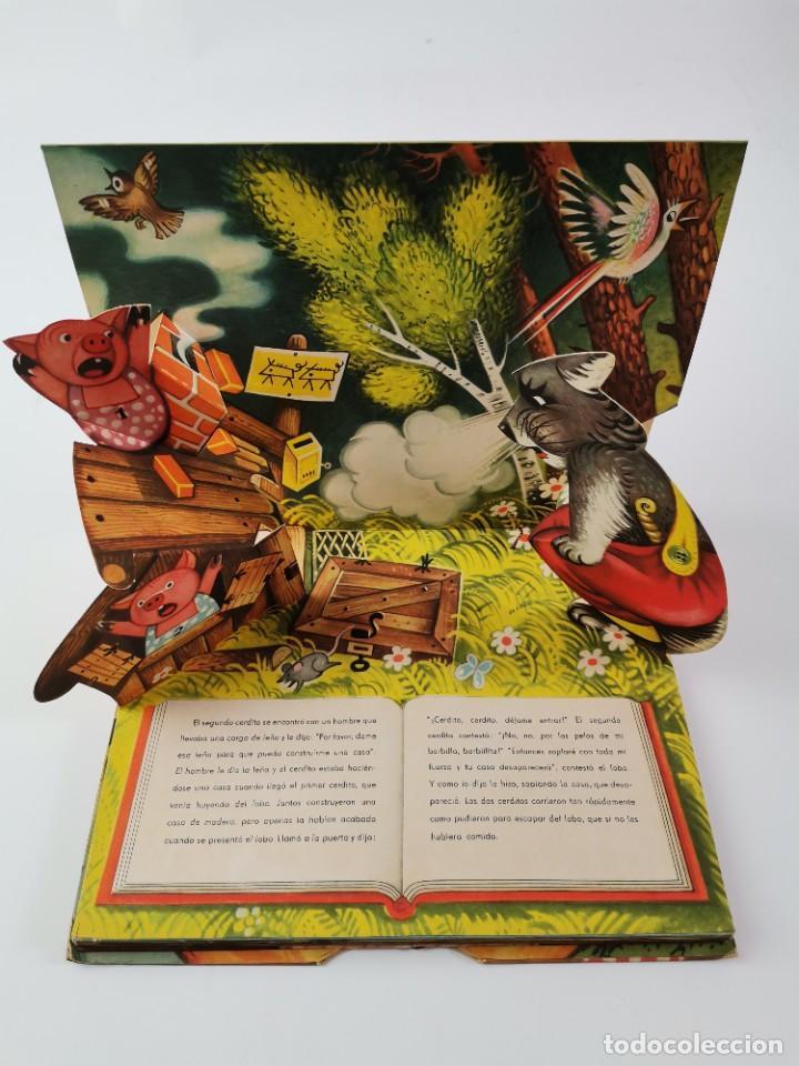Libros de segunda mano: L-959. CUENTO TROQUELADO CON DIORAMAS RICITOS DE ORO Y LOS TRES OSITOS. BANCROFT & CO. - Foto 7 - 289311453