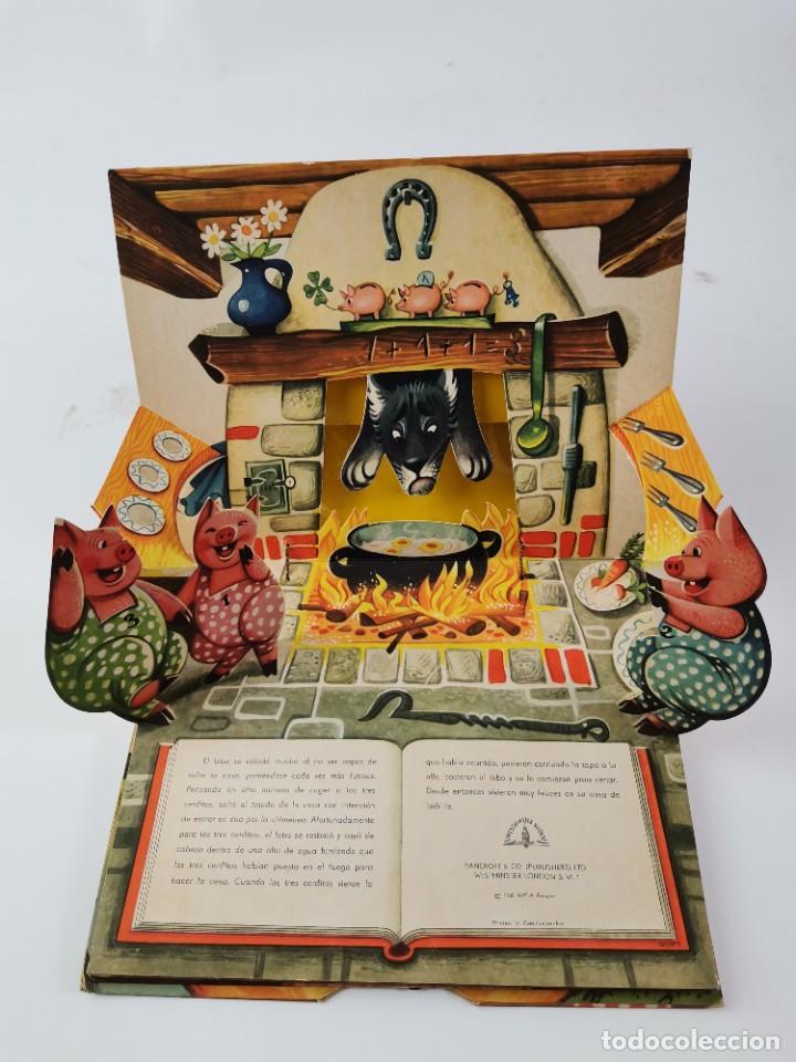 Libros de segunda mano: L-959. CUENTO TROQUELADO CON DIORAMAS RICITOS DE ORO Y LOS TRES OSITOS. BANCROFT & CO. - Foto 9 - 289311453