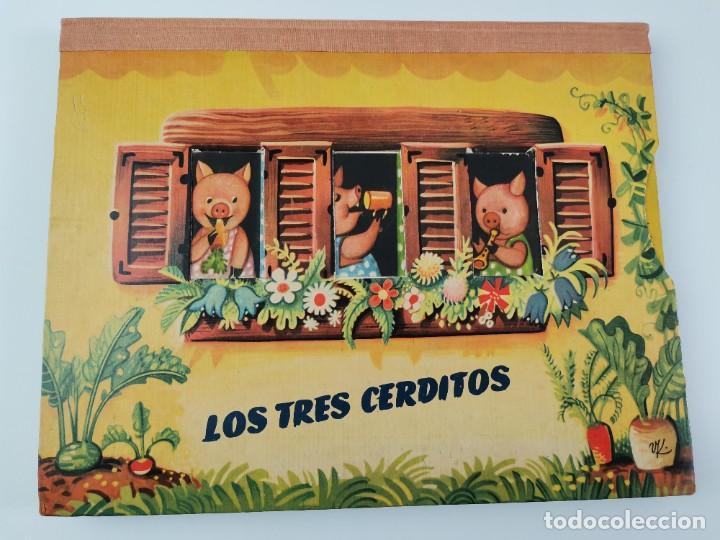 Libros de segunda mano: L-959. CUENTO TROQUELADO CON DIORAMAS RICITOS DE ORO Y LOS TRES OSITOS. BANCROFT & CO. - Foto 10 - 289311453