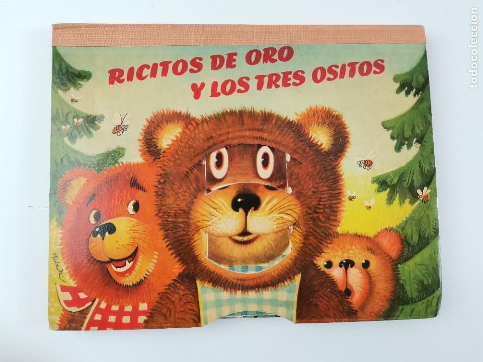 L-959. CUENTO TROQUELADO CON DIORAMAS RICITOS DE ORO Y LOS TRES OSITOS. BANCROFT & CO. (Libros de Segunda Mano - Literatura Infantil y Juvenil - Cuentos)