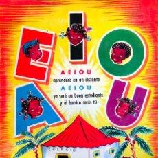 "Libros de segunda mano: 1950´S. CA. ABECEDARIO VOCALES ""5 NEGRITOS"" ED. MATEU DIBUJOS Y TEXTO MOYA ALBENIZ - BARCELONA. Lote 291598533"