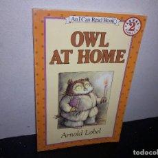 Libros de segunda mano: 39- CUENTO EN INGLÉS - OWL AT HOME, ARNOLD LOBEL. Lote 293983608