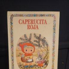 Libros de segunda mano: CAPERUCITA ROJA.COLECCION BUENAS NOCHES Nº 3.EDITORIAL BRUGUERA. Lote 295702258