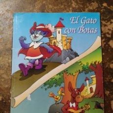 Libros de segunda mano: EL GATO CON BOTAS, EL BURRITO (ED. IRATXO). Lote 296909258