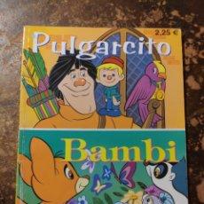Libros de segunda mano: COLECCIÓN CUENTOS DE SIEMPRE: PULGARCITO, BAMBI (GRUPO EDIDER, ASTURIAS). Lote 296909398