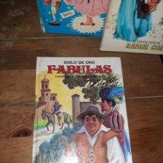 Libros de segunda mano: SIGLO DE ORO FABULAS ROMANCES Y CUENTOS CASTELLANOS. Lote 297114733