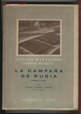 REF 9377 LA CAMPAÑA RUSA 1 PARTE VOLUMEN VI ED IDEA (Libros de Segunda Mano - Cursos de Idiomas)