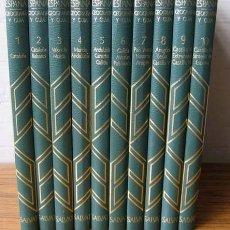 Libros de segunda mano: CONOCER ESPAÑA. GEOGRAFÍA Y GUÍA.- 10 TOMOS ...1980. Lote 12830754