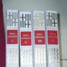 Libros de segunda mano: DOLÇA CATALUNYA - 4 VOLÚMENES. M.F. MATEU, JAUME BARNAT Y RAUL SAMPABLO. 1975-1984. Lote 20206785