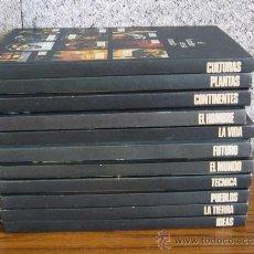 Libros de segunda mano: EL HOMBRE EN SU MUNDO .. 11 LIBROS DE LA COLECCIÓN .. CIRCULO DE LECTORES 1975 -76. Lote 12830684