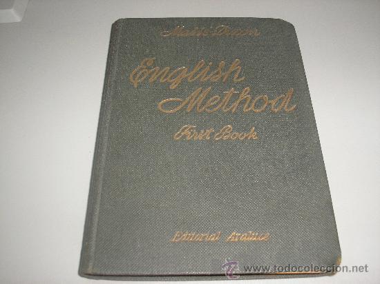 ENGLISH METHOD - FIRST BOOK (MASSÉ - DIXON) (Libros de Segunda Mano - Cursos de Idiomas)