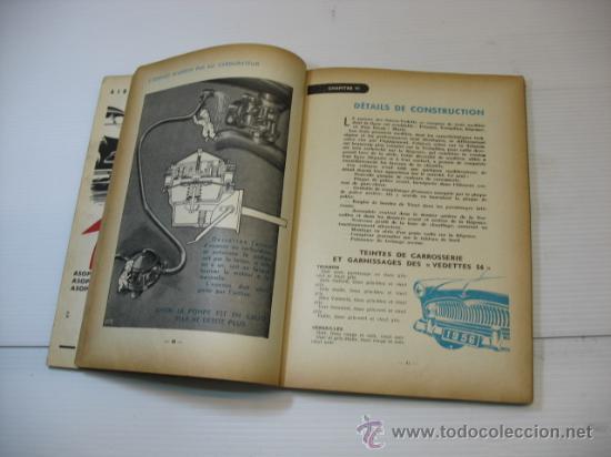 Libros de segunda mano: LA GUIA TECNICA Y`PRACTICA COMPLETA VOTRE VEDETTE SIMCA - Foto 5 - 47794953