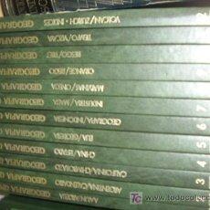Libros de segunda mano: GEOGRAFÍA UNIVERSAL, EDICIONES NAUTA AÑO 1981.12 TOMOS DE UNAS 200 PAGINAS EN .. Lote 26096968