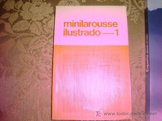 MINILAROUSSE ILUSTRADO 1 (Libros de Segunda Mano - Cursos de Idiomas)