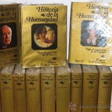 Libros de segunda mano: HISTORIA DE LA HUMANIDAD. EDITORIAL PLANETA. AÑOS 80.. Lote 27271740