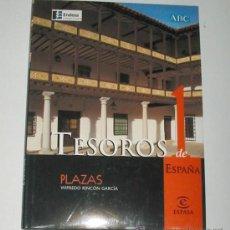 Libros de segunda mano: TESOROS DE ESPAÑA. 12 VOLS. OBRA GRÁFICA ILUSTRADA EN COLOR.. Lote 13016034