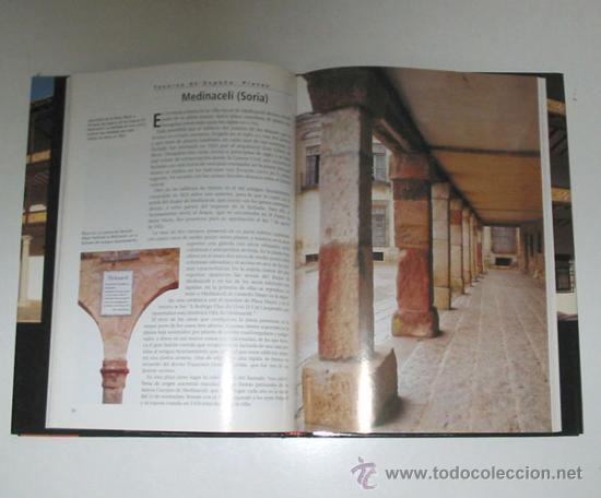 Libros de segunda mano: TESOROS DE ESPAÑA. 12 vols. Obra gráfica ilustrada en color. - Foto 3 - 13016034