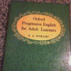 Libros de segunda mano: OXFORD PROGRESSIVE ENGLISH FOR ADULT LEARNERS (LIBRO 2), POR A. S. HORNBY - ENGLAND - 1963. Lote 18644516