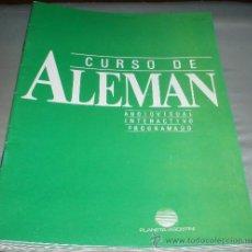Libros de segunda mano: FASCICULOS CURSO DE ALEMAN PLANETA AGOSTINI 1986 Nº 26 AL 71. Lote 210035965